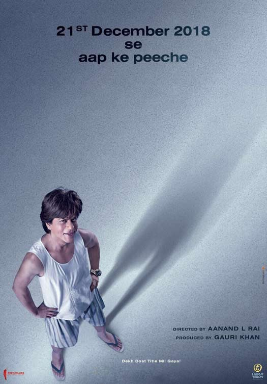 First Poster: Shah Rukh Khan's Dwarf Avatar Is The Cutest