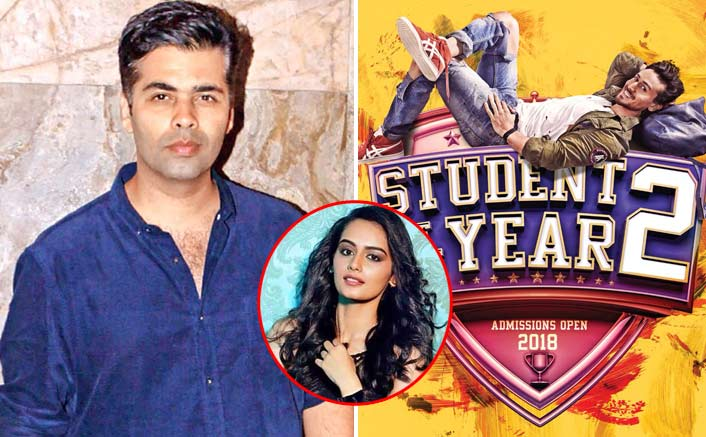 Karan Johar denies rumours of roping Manushi Chillar for 'SOTY 2'