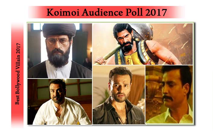 Koimoi's Audience Poll: Vote For Your Favorite Villain Of 2017