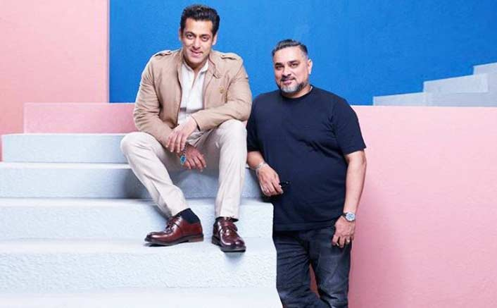 Salman Khan with Raza Beig