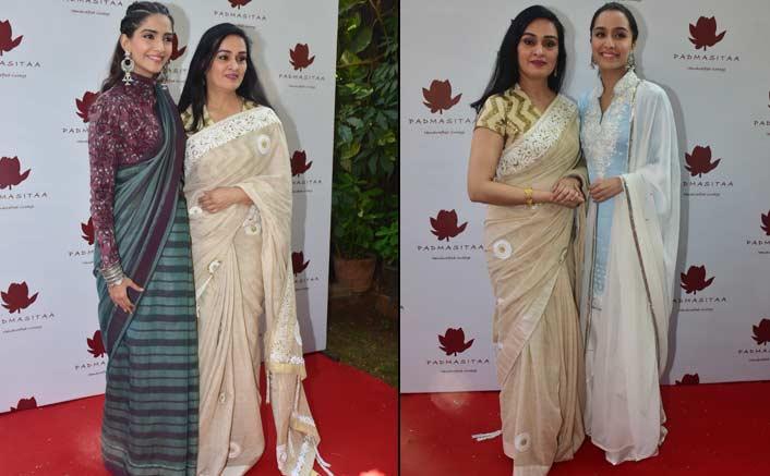 Shraddha Kapoor and Sonam Kapoor unveil a new collection of actress Padmini Kolhapure's PadmaSitaa!