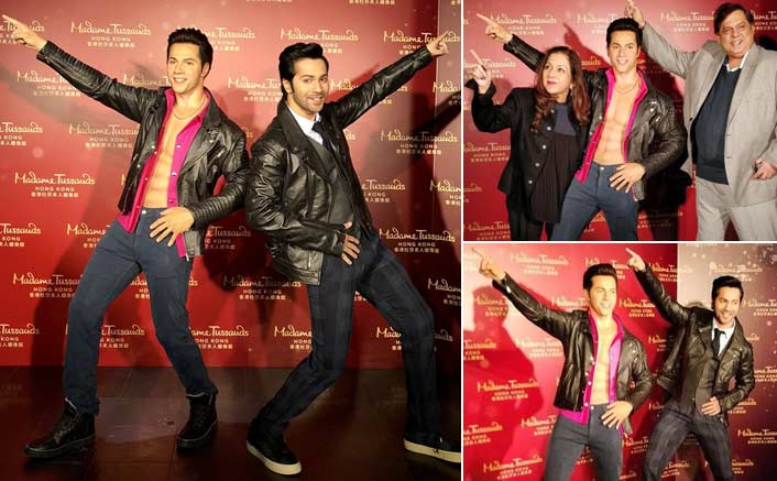 Madame Tussauds's wax figure was a dream as a child: Varun Dhawan