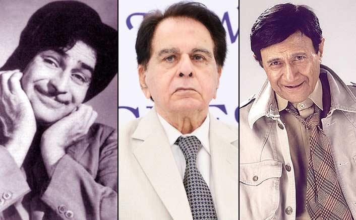 Dilip Kumar, Dev Anand and Raj Kapoor