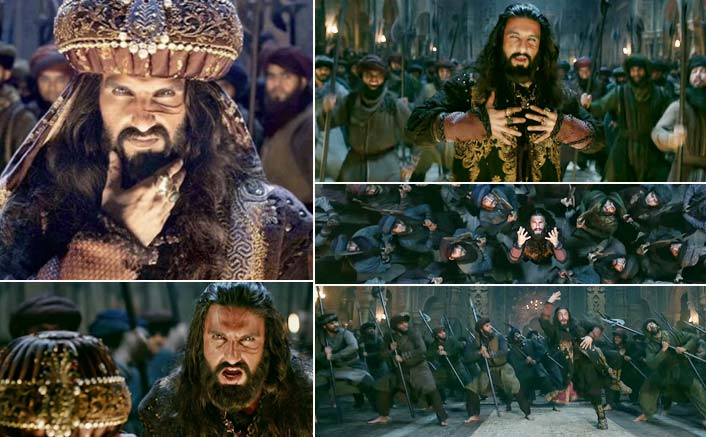Ranveer Singh As Khilji In This Song From Padmaavat Is Better Than The Best