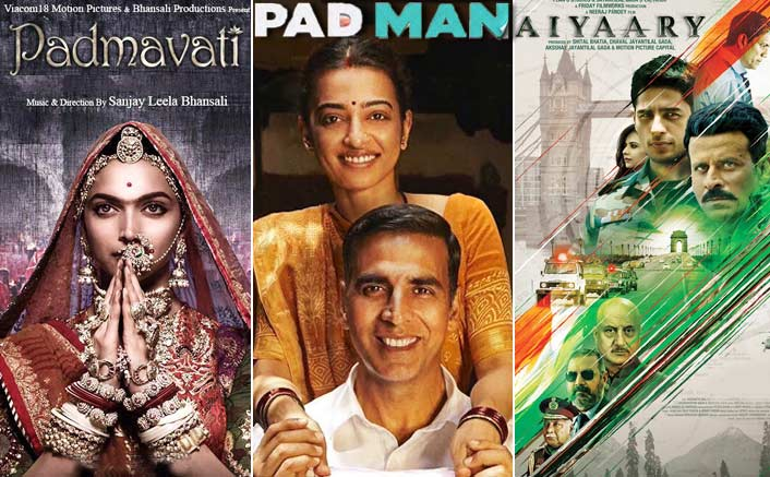 Padmavati To Clash With Padman, Aiyaary Gets Postponed; Reports Suggest