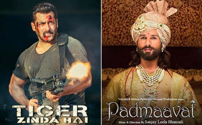 Salman's Tiger Zinda Hai and Padmaavat