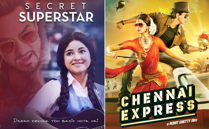 Secret Superstar Evicts Chennai Express