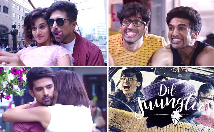 Taapsee Pannu And Saqib Saleem's Chemistry In This Trailer Of Dil Juunglee Is Like A Breath Of Fresh Air