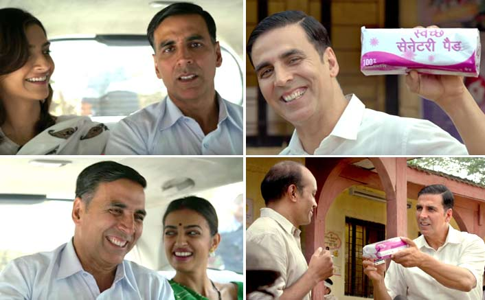 Video! Padman Is Treating Us With A Few Social Lessons