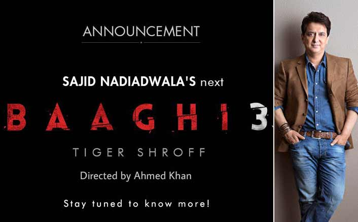 With the announcement of 'Baaghi 3' Sajid Nadiadwala is the undisputed king of sequels