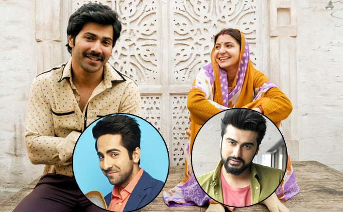 Arjun Kapoor & Ayushmann Khurrana Reply Hilariously On Varun Dhawan & Anushka Sharma's Sui Dhaaga Look