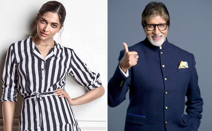 Deepika Padukone receives a 'reward' from her onscreen 'baba' Amitabh Bachchan