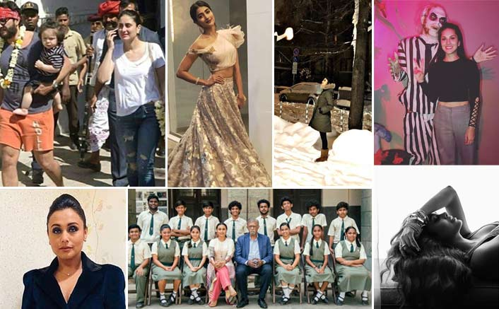 Koimoi's Daily Dose With Chai: From Mouni Roy's Picture From The Sets To Sunny Leone Posing In A Hollywood Restro