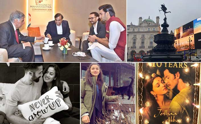 Koimoi's Daily Dose With Chai: Salman's Bharat In London, Aamir & Ranveer's Chai Pecharcha & More!