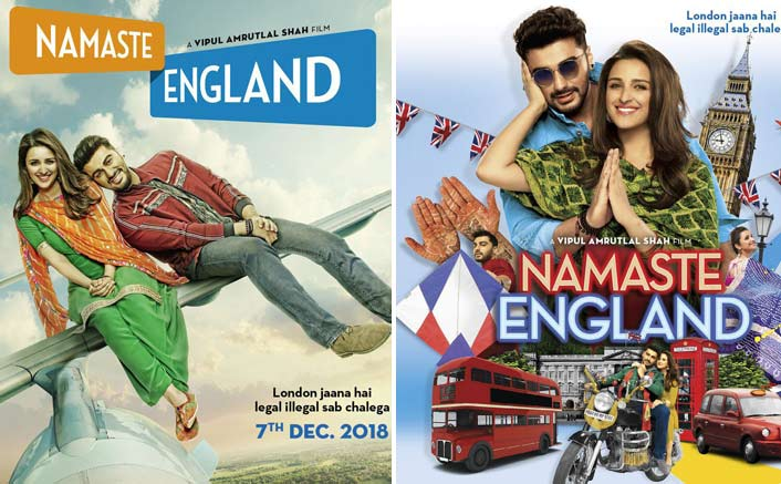 Namaste England Poster Out: Arjun Kapoor & Parineeti Chopra Take Off To London