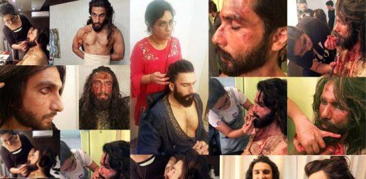 Padmaavat's makeup, hair and prosthetic designer Preetisheel Singh on cloud nine