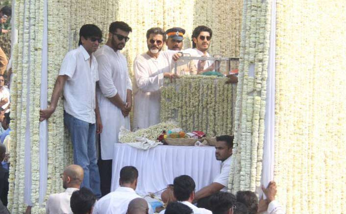 Sridevi's family thanks Mumbai Police for support on her last journey