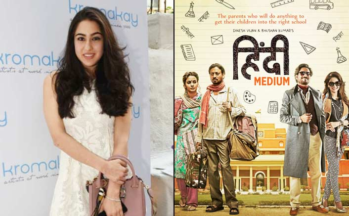 Sara Ali Khan Roped In For Irrfan Khan's Hindi Medium Sequel?