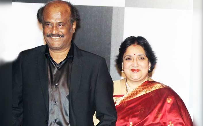 Rajanikanth and Latha Rajinikanth