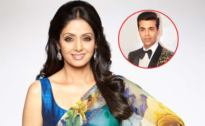 Sridevi Was Supposed To Do This Karan Johar Film After Zero