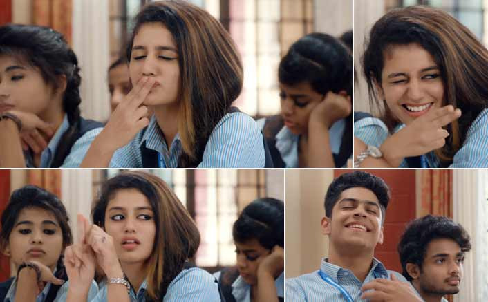 The Teaser Of Priya Varrier's Film Oru Adaar Love Will Melt Your Heart Too