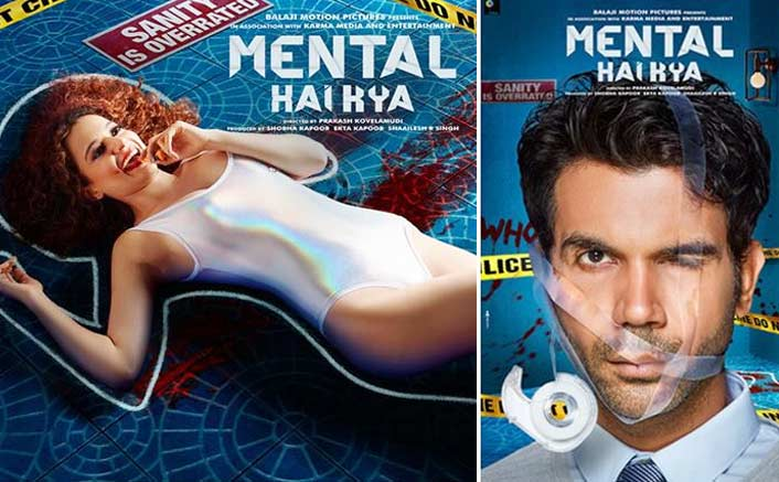 Mental Hai Kya Posters: Kangana Ranaut & Rajkummar Rao Are Here To Prove Why Sanity Is Overrated