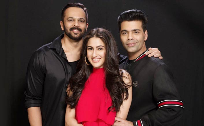 Sara Ali Khan signed by Rohit Shetty and Karan Johar as The Leading lady in SIMMBA