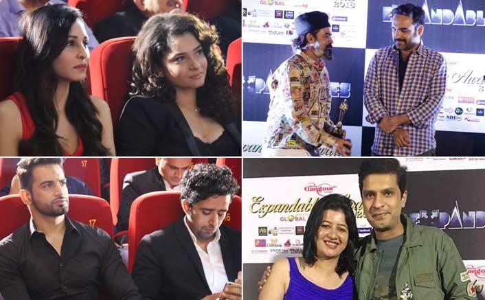 Ankita Lokhande, Deepika Kakkar, Pooja Chopra, Upen Patel and many more Celebs grace The Expandables Awards 2018...