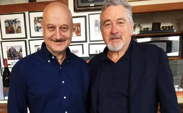 Anupam Kher's 'Indian hospitality' for Robert De Niro