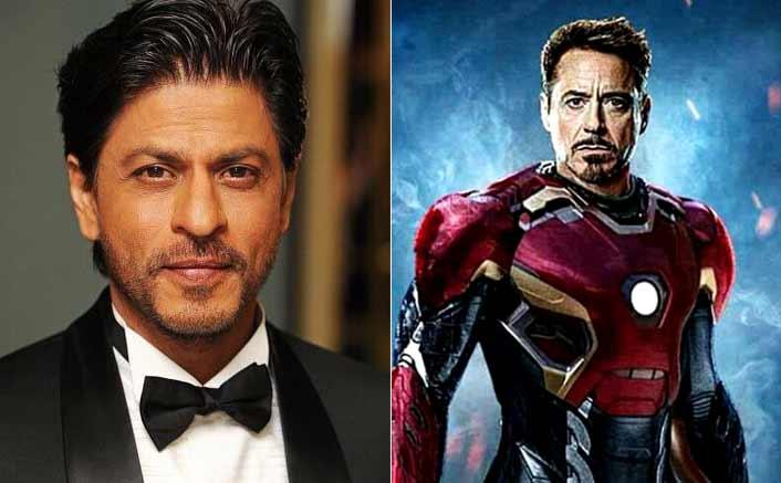 Shah Rukh Khan as Iron Man