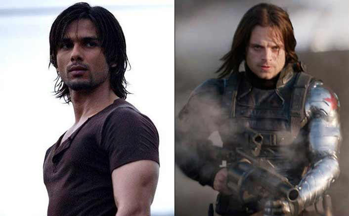 Shahid Kapoor as the Winter Soldier