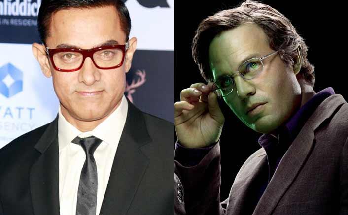 Aamir Khan as Bruce Banner (Hulk)