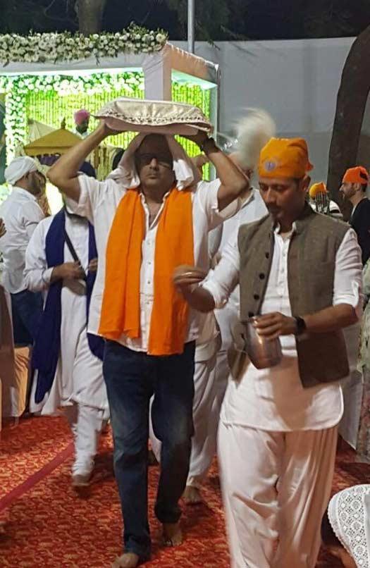 Boney Kapoor Attends Sridevi's Prayer Meet
