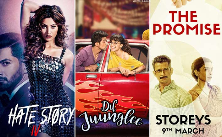 Box Office - Hate Story IV, Dil Juunglee and 3 Storeys - First day collections