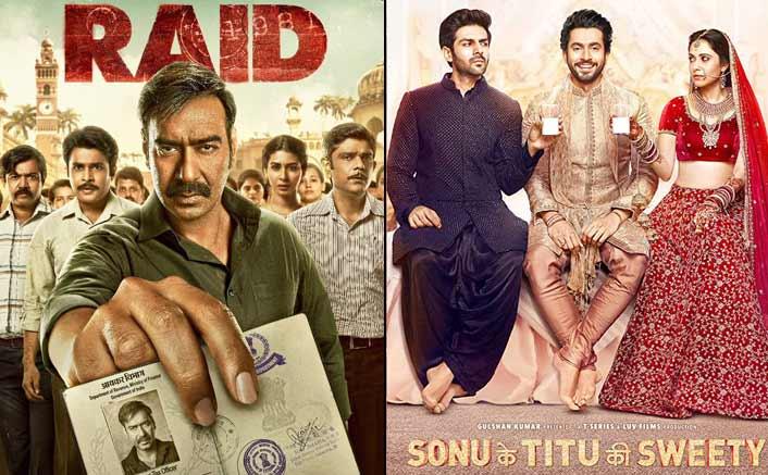 Box Office - Raid and Sonu Ke Titu Ki Sweety jump well on Saturday