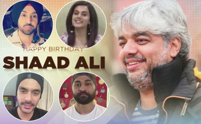 Diljit Dosanj, Taapsee, Sandeep Singh gave a shout-out to Soorma director Shaad Ali on his birthday!