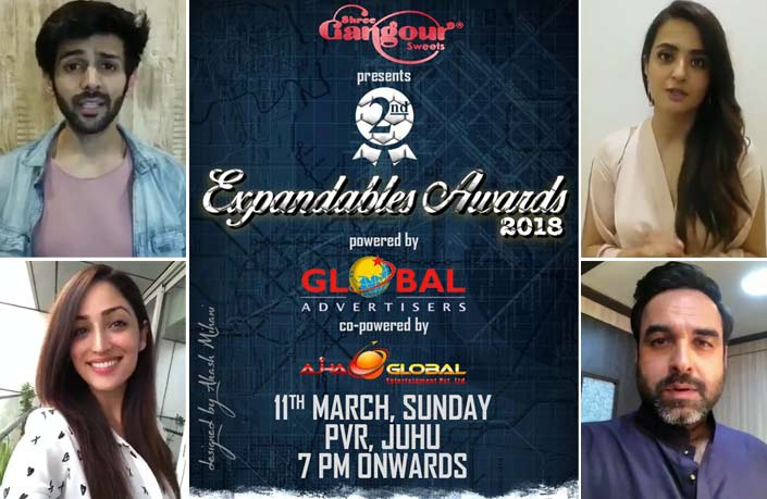 Expandables Awards 2018: From Kartik Aaryan To Yami Gautam, B-Town Wishes The Award Show Held For & By Journalists