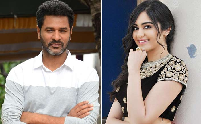 A Fans request and Adah makes a singing debut in PrabhuDeva' s film