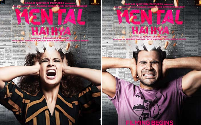 Filming!: Rajkummar Rao & Kangana Ranau Take The Quriknessone Notch High With Mental Hai Kya