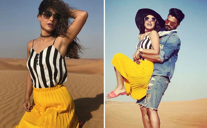 Hina Khan SLAYS And SIZZLES In The Desert In Dubai