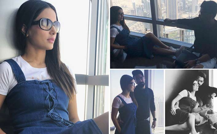 Hina Khan Spends The BEST TIME With Her Boyfriend Rocky Jaiswal In Dubai