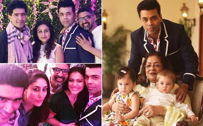 Hiroo Johar's Birthday Bash: Karan Johar Parties With Kareena Kapoor Khan, Kajol And Rani Mukerji