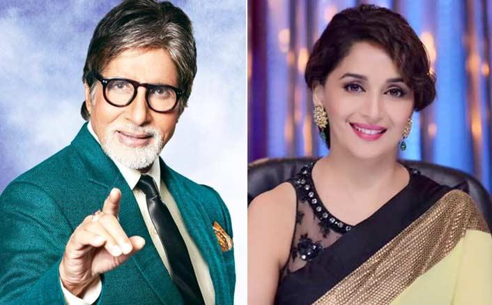 Amitabh Bachchan & Madhuri Dixit