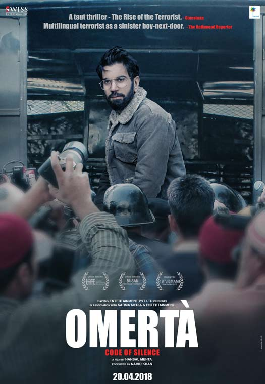 Omertà Second Poster Captures The Turning Point in the Film
