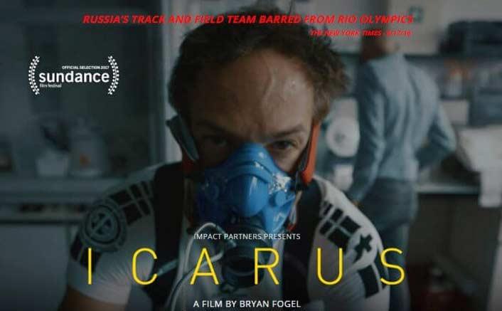 """""""Icarus,"""" Bryan Fogel, Dan Cogan (WINNER)"""