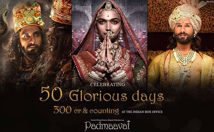 Padmaavat Has Done It! Enters The 300 Crore Club In Style