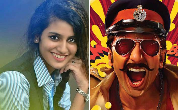 Priya Varrier To Screen Opposite Ranveer Singh In Rohit Shetty's Simmba?