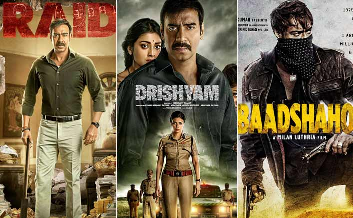 Raid VS Drishyam VS Baadshaho: Ajay Devgn's Box Office Report Card!