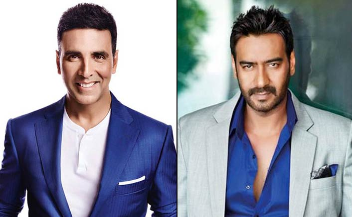 Akshay Kumar and Ajay Devgn