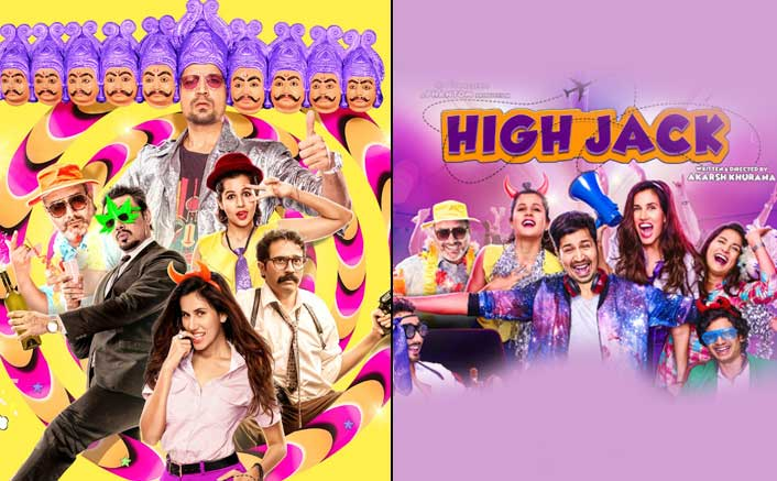 Here is the second poster of Bollywood's first stoner comedy 'Highjack'!